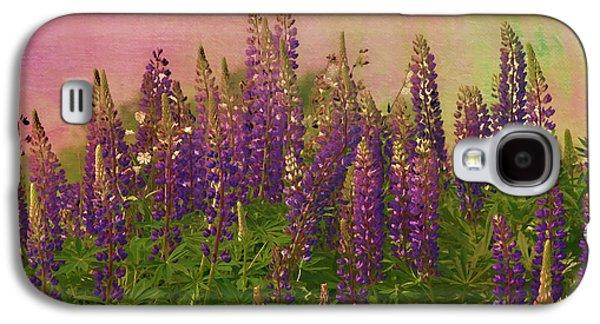 Deborah Benoit Galaxy S4 Cases - Dreamy Lupin Galaxy S4 Case by Deborah Benoit