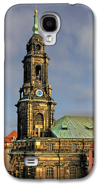Deutschland Galaxy S4 Cases - Dresden Kreuzkirche - Church of the Holy Cross Galaxy S4 Case by Christine Till