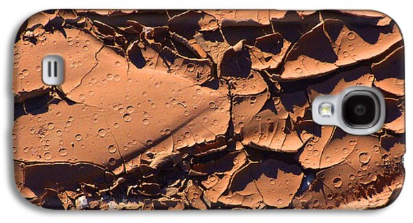 Dried Mud 5c Galaxy S4 Case by Mike McGlothlen