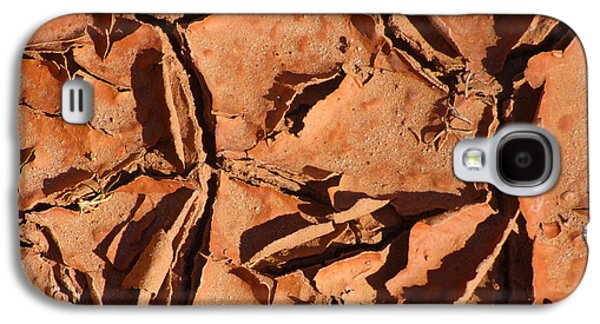 Dried Mud C Galaxy S4 Case by Mike McGlothlen