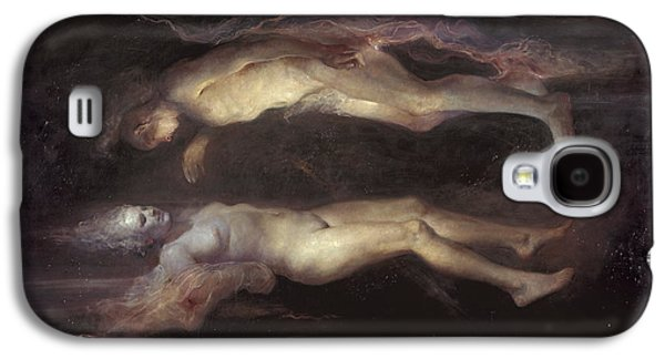 Women Together Paintings Galaxy S4 Cases - Drifting Galaxy S4 Case by Odd Nerdrum