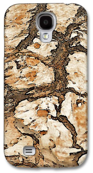 Abstracts Galaxy S4 Cases - Driftwood Abstract Galaxy S4 Case by Marv Vandehey