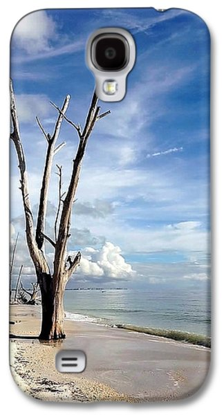 Driftwood At Lovers Key State Park Galaxy S4 Case by Janet King