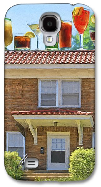 Drinks On The House Galaxy S4 Case by Nikolyn McDonald