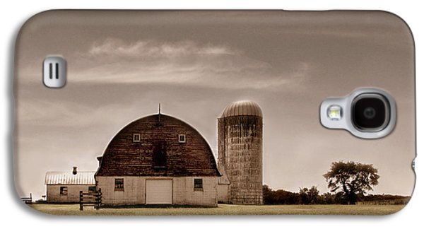 Old Barns Galaxy S4 Cases - Dry Earth Crumbles Between My Fingers and I Look to the Sky for Rain Galaxy S4 Case by Dana DiPasquale