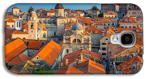 Ocean Panorama Galaxy S4 Cases - Dubrovnik Panorama Galaxy S4 Case by Inge Johnsson