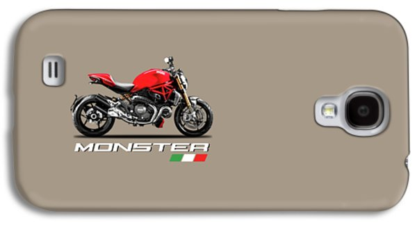 Monster Galaxy S4 Cases - Ducati Monster Galaxy S4 Case by Mark Rogan