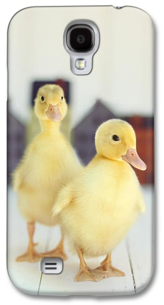 Ducks In The Neighborhood Galaxy S4 Case by Amy Tyler