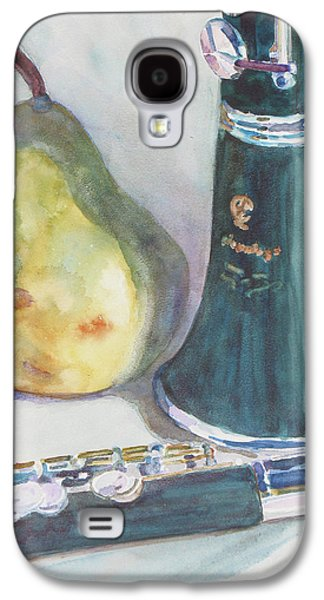 Watercolour Art Galaxy S4 Cases - Duet for a Pear Galaxy S4 Case by Jenny Armitage