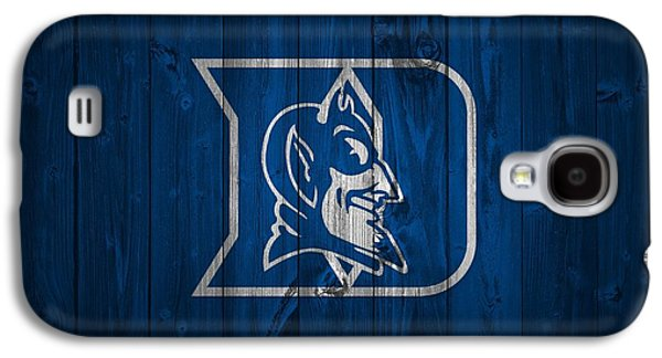 Duke Blue Devils Barn Door Galaxy S4 Case by Dan Sproul