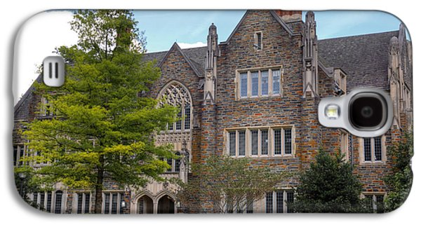 Universities Pyrography Galaxy S4 Cases - Duke University Building Galaxy S4 Case by Inho Kang
