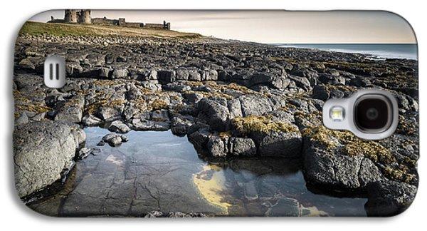 Dunstanburgh Castle Galaxy S4 Case by Dave Bowman