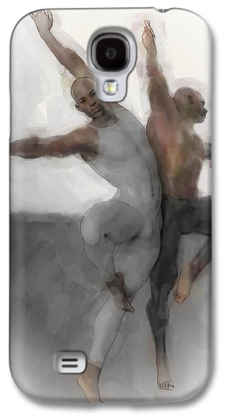Duo Dancers Galaxy S4 Case by Quim Abella