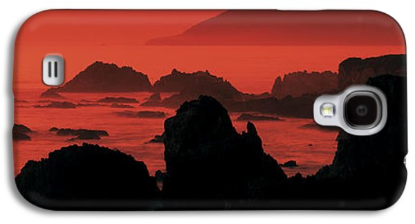 Water Filter Galaxy S4 Cases - Dusk Headlands Near Pacific Valley Big Galaxy S4 Case by Panoramic Images