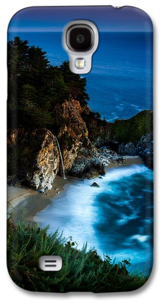 Big Sur California Galaxy S4 Cases - Dusk in the Cove Galaxy S4 Case by Dan Holmes