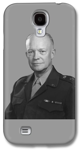 U.s Army Galaxy S4 Cases - Dwight D. Eisenhower  Galaxy S4 Case by War Is Hell Store