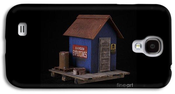 Sculptures Galaxy S4 Cases - Dynamite Shack Original Sculpture Galaxy S4 Case by Edward Fielding