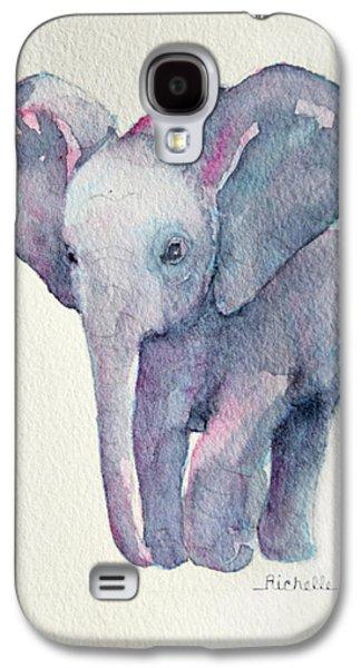 E Is For Elephant Galaxy S4 Case by Richelle Siska