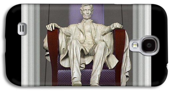 Ea-z-chair Lincoln Memorial Galaxy S4 Case by Mike McGlothlen