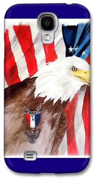 Eagle Scout Galaxy S4 Case by Rosalea Greenwood