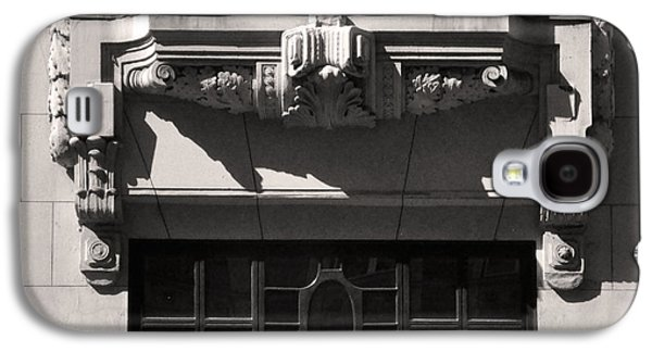 Bas Relief Reliefs Galaxy S4 Cases - Early Art Deco Architectural Ornament Budapest Galaxy S4 Case by James Dougherty