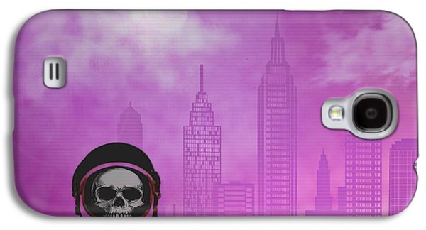 Creepy Digital Art Galaxy S4 Cases - Early Flight Out Galaxy S4 Case by Randolph Ping