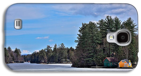 Early Spring Galaxy S4 Cases - Early Spring on Old Forge Pond Galaxy S4 Case by David Patterson