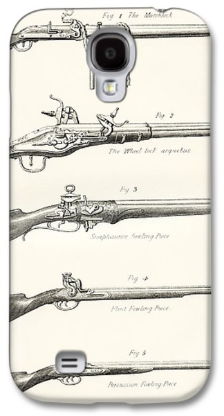 Early Types Of Firearms. 1. The Galaxy S4 Case by Vintage Design Pics