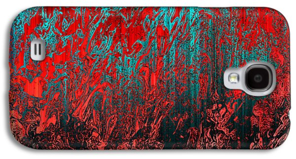Oil Slick Digital Galaxy S4 Cases - Earth Crime Pandemic Galaxy S4 Case by Andy Readman