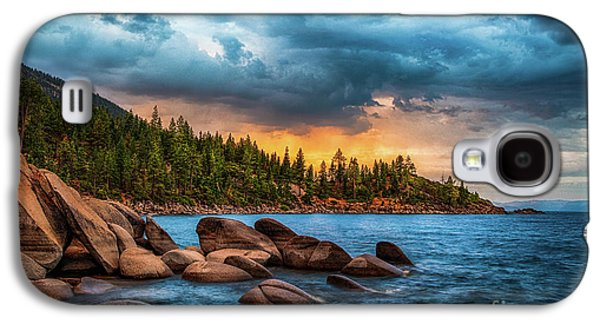 Eastern Glow At Sunset Galaxy S4 Case by Anthony Bonafede