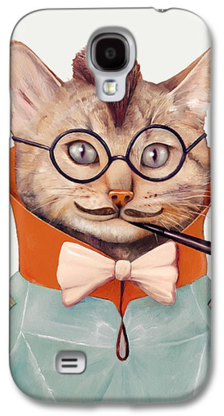 Eclectic Cat Galaxy S4 Case by Animal Crew