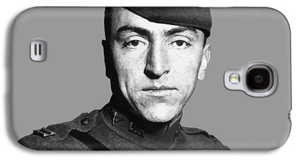 Fighters Digital Art Galaxy S4 Cases - Eddie Rickenbacker Galaxy S4 Case by War Is Hell Store
