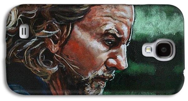 Eddie Vedder Galaxy S4 Case by Joel Tesch