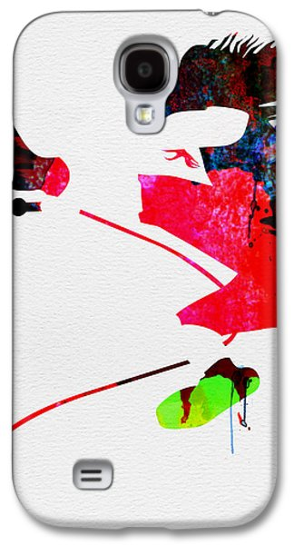Eddie Watercolor Galaxy S4 Case by Naxart Studio