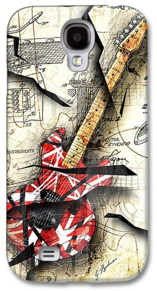 Van Halen Galaxy S4 Cases - Eddies Guitar Galaxy S4 Case by Gary Bodnar