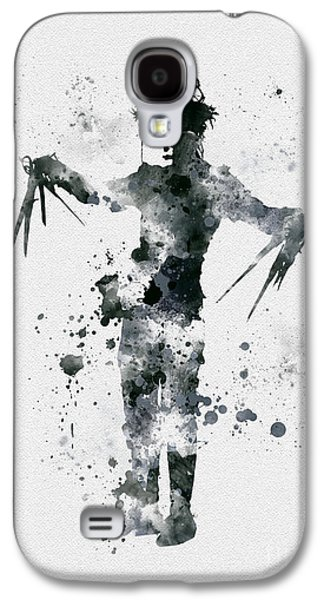 Edward Scissorhands Galaxy S4 Case by Rebecca Jenkins