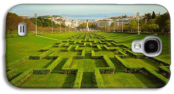 Garden Scene Galaxy S4 Cases - Edward VII Park Galaxy S4 Case by Carlos Caetano