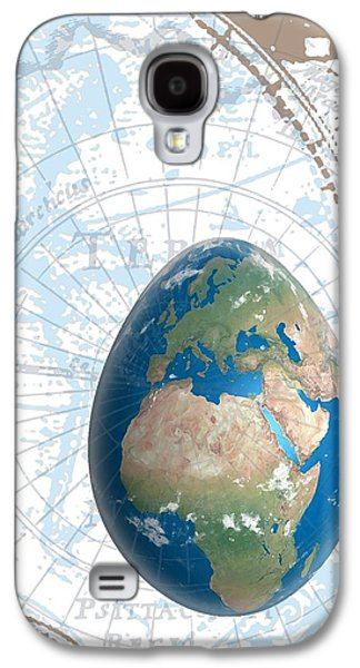 Compass Galaxy S4 Cases - Egground the World Galaxy S4 Case by Francois Domain
