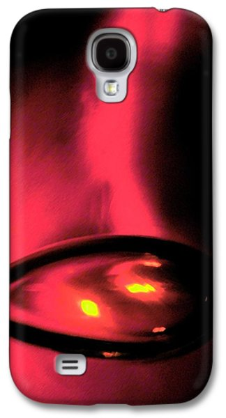 Abstract Digital Art Glass Art Galaxy S4 Cases - Eggy Galaxy S4 Case by Uleria Caramel