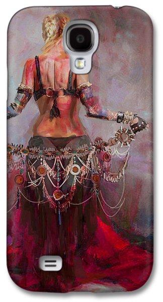Pharaoh Galaxy S4 Cases - Egyptian Culture 17b Galaxy S4 Case by Maryam Mughal
