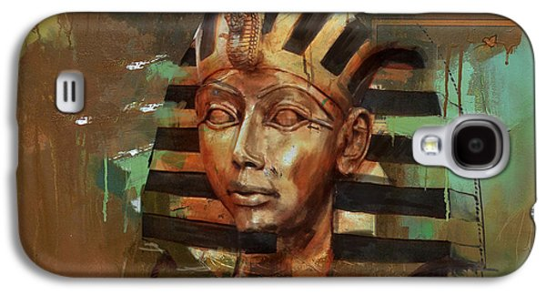Pharaoh Galaxy S4 Cases - Egyptian Culture 52 Galaxy S4 Case by Corporate Art Task Force