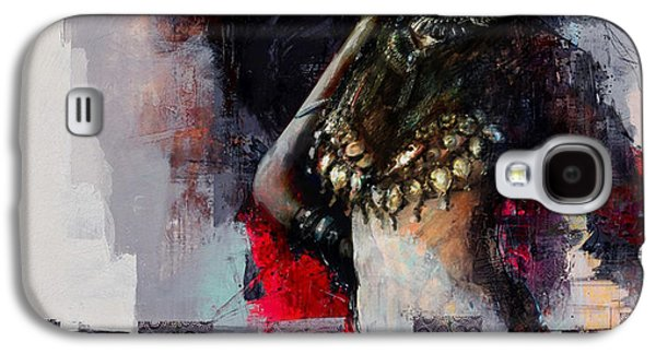 Pharaoh Galaxy S4 Cases - Egyptian Culture 80b Galaxy S4 Case by Maryam Mughal