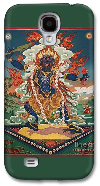 Buddhist Paintings Galaxy S4 Cases - Ekajati Galaxy S4 Case by Sergey Noskov