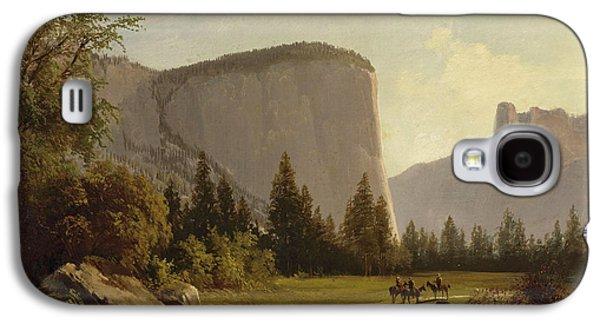 El Capitan Paintings Galaxy S4 Cases - El Capitan Galaxy S4 Case by Thomas Hill