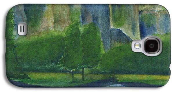 El Capitan Paintings Galaxy S4 Cases - El Capitan Watercolor 2 Galaxy S4 Case by Frank Bright
