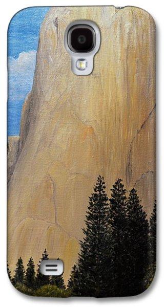 El Capitan Paintings Galaxy S4 Cases - El Capitan - Yosemite Valley Galaxy S4 Case by Tenzin Tamding