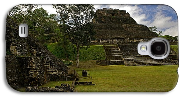 El Castillo Pyramid At Xunantunich Galaxy S4 Case by Panoramic Images