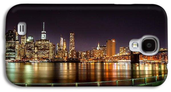 Famous Bridge Galaxy S4 Cases - Electric City Galaxy S4 Case by Az Jackson