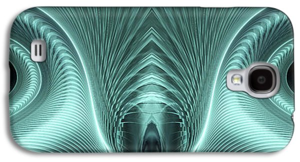 Abstract Digital Galaxy S4 Cases - Electric Sheep Galaxy S4 Case by John Edwards