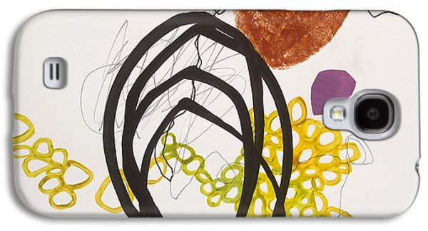 Abstracts Galaxy S4 Cases - Element # 11 Galaxy S4 Case by Jane Davies